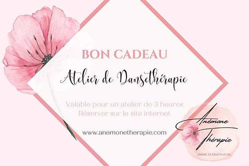 Bon Cadeau - Atelier Dansethérapie