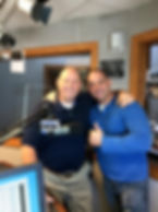 Mark Lawhorne visits Blacksmith Communication's cliet Joey Voices on air.