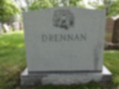 Granite cemetery headstone memorials cleaning