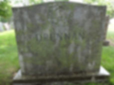 Granite cemetery headstone memorials cleaning
