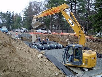 E.B. Rotondi - Site work and utilities