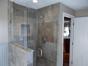 Contact www.allcity-glass.com for custom shower door applications and table top glass products.