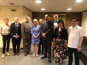 EGT Meets with Philippine Counsel General Elmer G. Cato