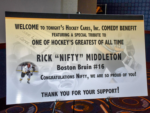Hockey Cares Board Hosts Tribute for Fellow Board Member Rick Middleton