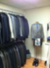 Men's Career closet