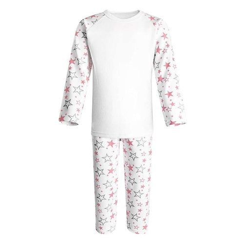 Pink Star Pyjamas (6 mths - 6 years)