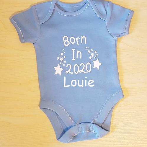 Born In 2020 Vest