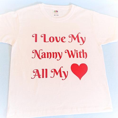 I Love My ..... T-Shirt
