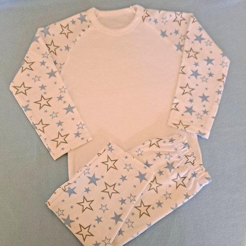 Blue Star Pyjamas (Age 7/8 & 9/10)