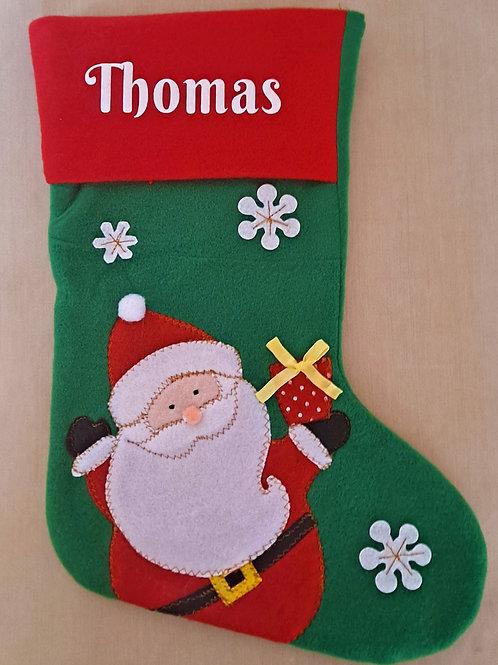 Deluxe Santa Stocking