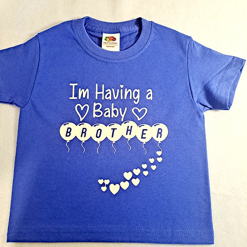 I'm Having A Baby Brother T-Shirt