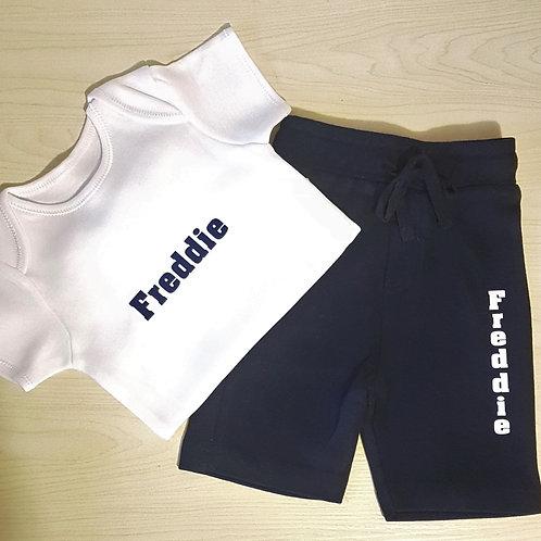 T-Shirt & Shorts Lounge Set