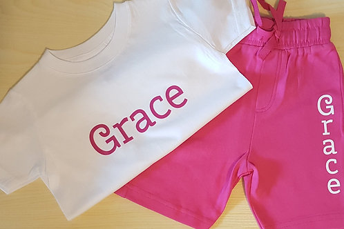 Hot Pink Set (Age 1-2 & 2-3 Years Only)