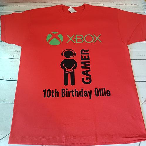 Gamer Birthday T-Shirt