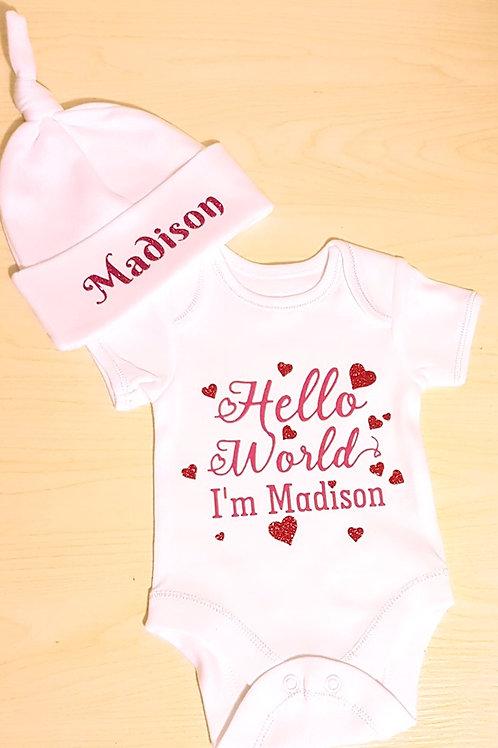 Hello World Baby Set