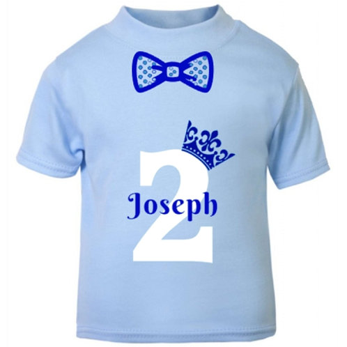 Baby Blue Birthday T-Shirt