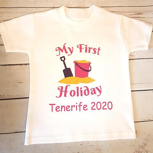 Bucket & Spade Holiday T-Shirt