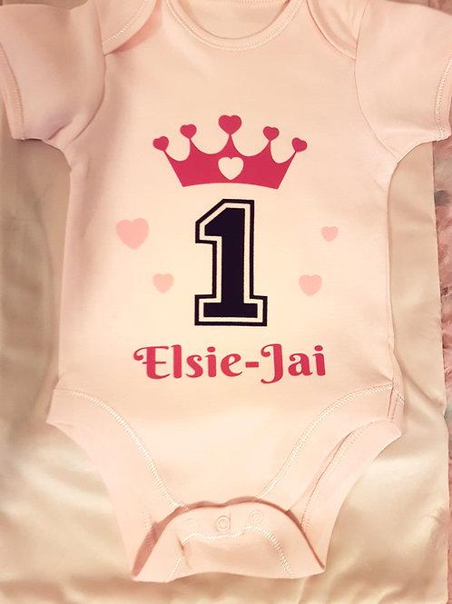 1st Birthday Vest