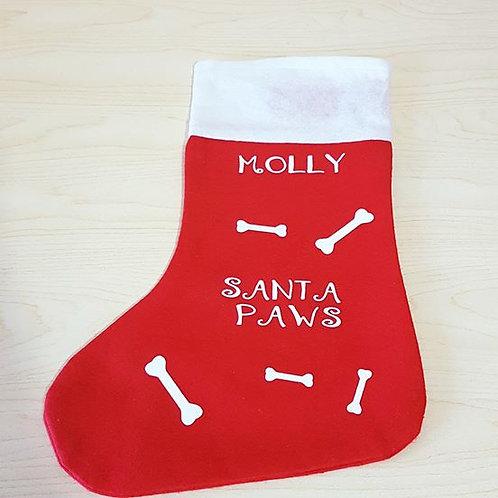 Santa Paws Pet Stocking