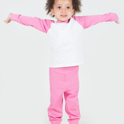Pink & White Pyjamas