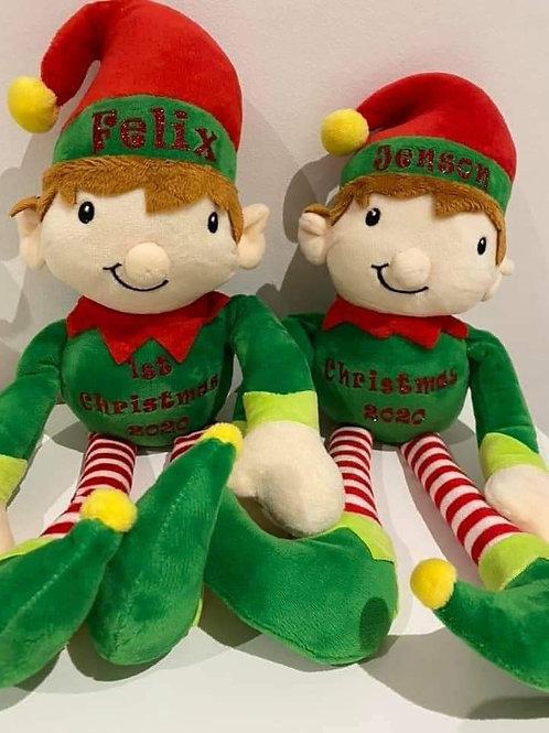 Personalised Elf Teddy