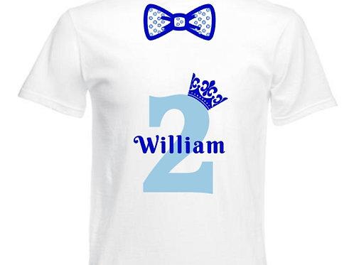 White Birthday T-Shirt
