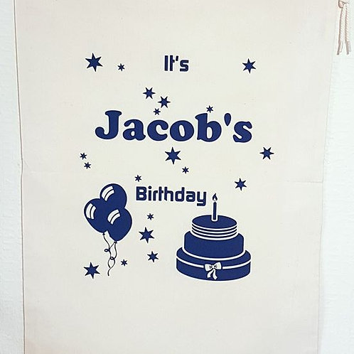 Birthday Cake Sack