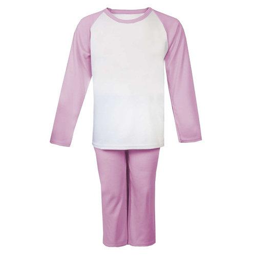 Pink/White Pyjamas