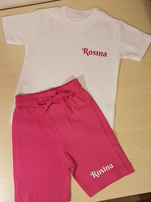 Hot Pink Lounge Set (6-12 mths only)