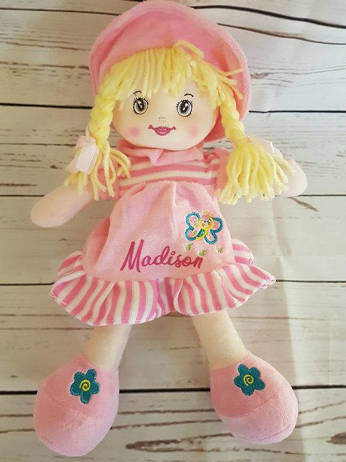 Pale Pink Rag Doll