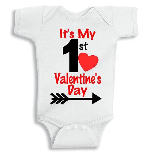 It's My 1st Valentine's Day Vest