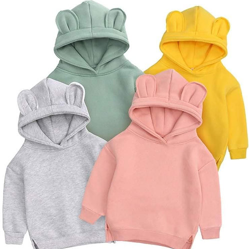 Bear Hoodies - Age 5-8 Years