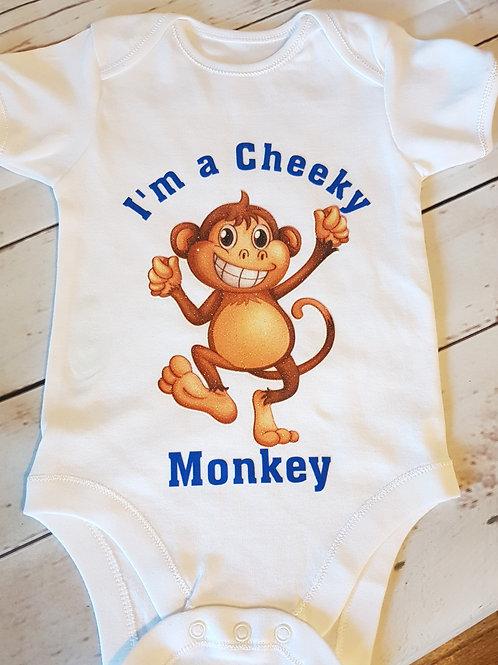 I'm A Cheeky Monkey Vest