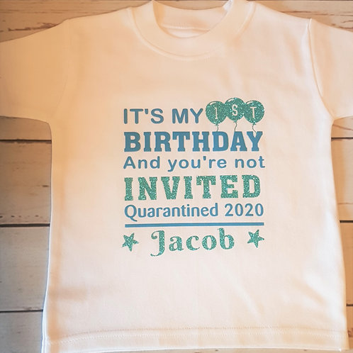Birthday Quarantine T-Shirt