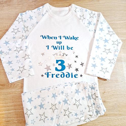 Blue Star Pyjamas (6 mths - 6 years)