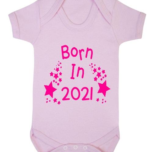 Born In 2021 Vest