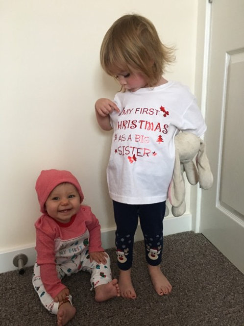 My First Christmas As A Big Sister T-Shirt