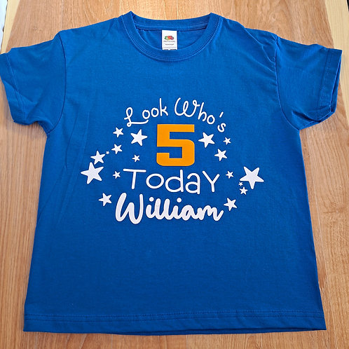 Look Who's 5 Today T-Shirt