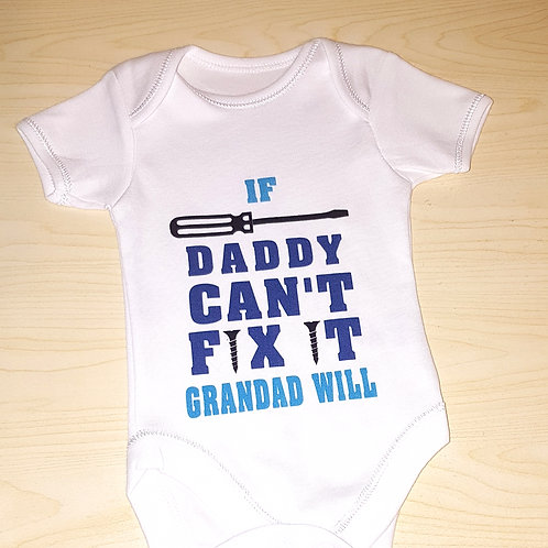 If Daddy Can't Fix It Grandad Will