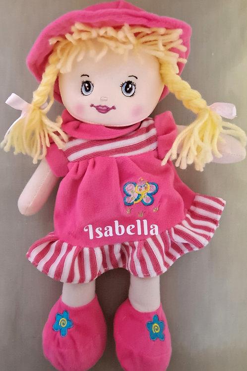 Hot Pink Rag Doll