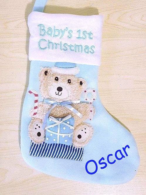 Baby's 1st Christmas Stocking