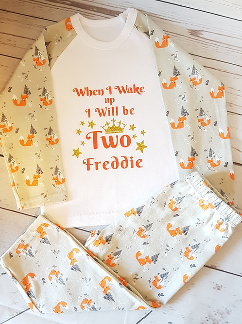 Foxy Pyjamas (6 mths - 6 years)
