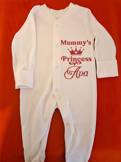 Button Sleepsuits