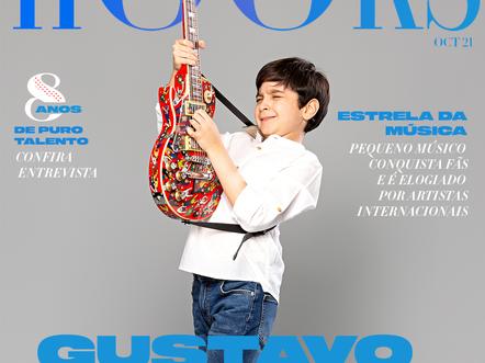 Gustavo Saldanha, com apenas 8 anos já é um sucesso na música