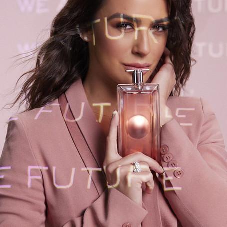 Lancôme anuncia campanha com nomes brasileiros para o lançamento da fragrância Idôle Aura