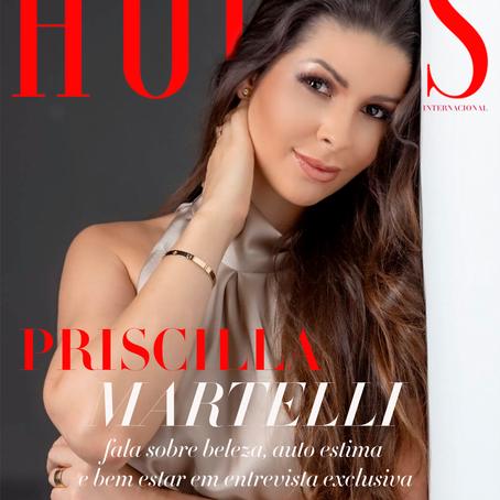Priscilla Martelli fala sobre beleza, auto estima, bem estar