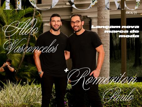 Romeriton Paulo e Aldo Vasconcelos lançam nova marca de moda - Hooks edição Paris