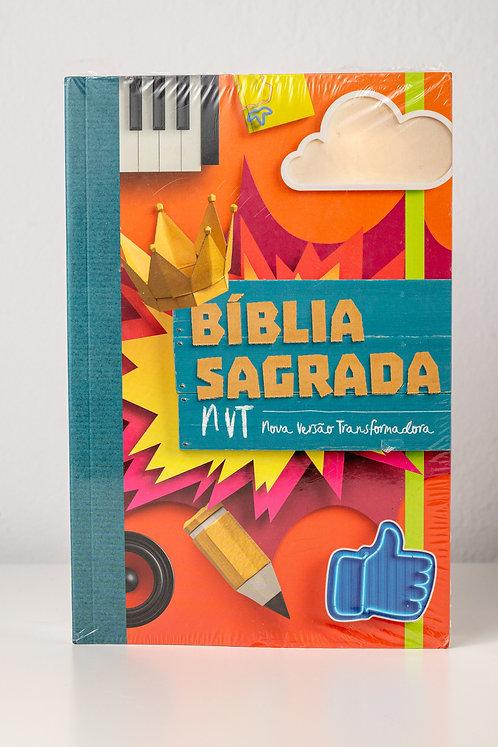 Biblia Sagrada - Colagem NVT