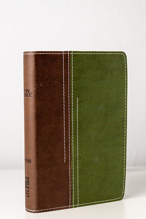 Holly Bible - NVI (Verde/Marrom)
