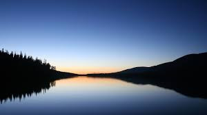 Deep lake...